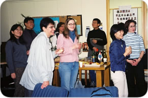 Student Council - Thanksgiving Potluck Dinner 2004